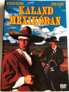 The Appaloosa DVD Kaland Mexikóban / Directed by Sidney J. Furie / Starring: Marlon Brando, John Saxon, Emilio Fernandez, Frank Silvera (5996473002441)