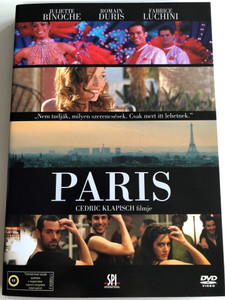 Paris DVD 2008 Párizs / Directed by Cedric Klapisch / Starring: Juliette Binoche, Romain Duris, Fabrice Luchini (5999544156340)