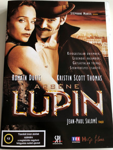 Arséne Lupin DVD 2004 / Directed by Jean-Paul Salomé / Starring: Roman Duris, Kristin Scott Thomas, Pascal Greggory, Eva Green (5999544151130)