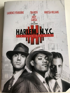 Hoodlum DVD 1997 Harlem, N.Y.C Der Preis Der Macht / Directed by Bill Duke / Starring: Laurence Fishburne , Tim Roth, Vanessa Williams, Andy García (4010232006844)