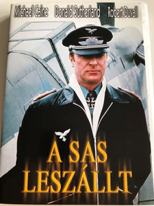 The Eagle Has Landed DVD 1976 A Sas leszállt / Directed by John Sturges / Starring: Michael Caine, Donald Sutherland, Robert Duvall, Jenny Agutter, Donald Pleasence (TheEagleHasLandedDVD)