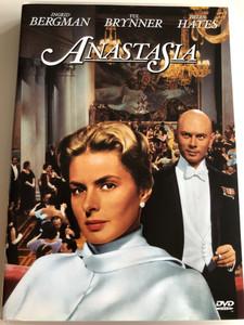 Anastasia DVD 1956 / Directed by Anatola Litvak / Starring: Ingrid Bergman, Yul Brynner, Helen Hayes (4010232015877)