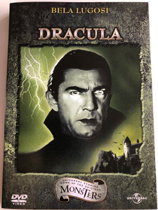 Dracula The Restored Version DVD 1931 / Directed by Tod Browning / Starring: Bela Lugosi, David Manners, Helen Chandler, Dwight Frye (5050582245875)