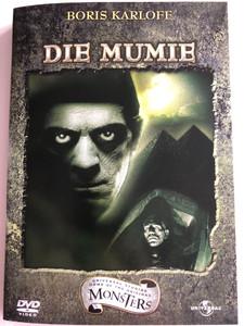 The Mummy DVD 1932 Die Mumie / Directed by Karl Freund / Starring: Boris Karloff, Zita Johann, David Manners, Brawell Fletcher (5050582244281)