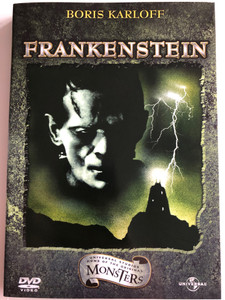 Frankenstein DVD 1931 / Directed by James Whale / Starring: Boris Karloff, Colin Clive, Mae Clarke, John Boles, Edward van Sloan (5050582244687)