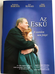 A Vow to Cherish DVD 1999 Az eskü / Directed by John Schmidt / Starring: Barbara Babcock, Ken Howard, Ossie Davis, David Morin, Donna Bullock (731635001901)