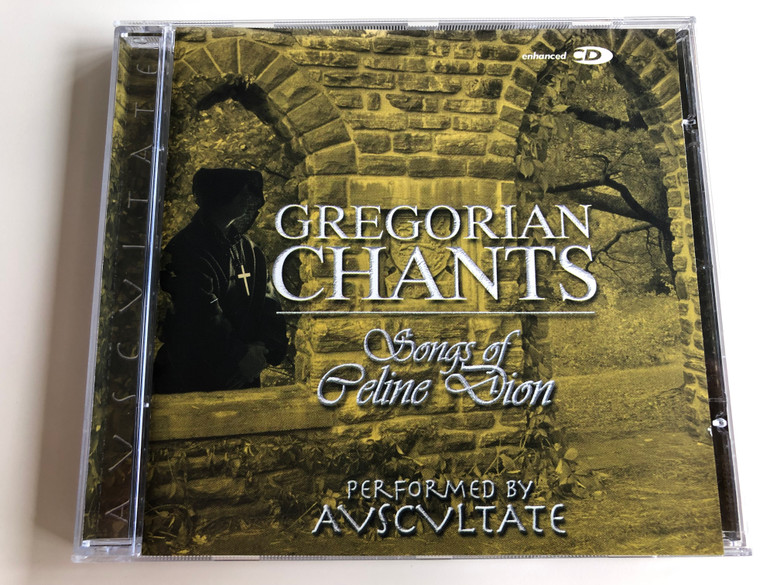 Gregorian Chants - The Songs Of Celine Dion / Performed By Avscvltate / Elap Music Audio CD 2003 / 50020102