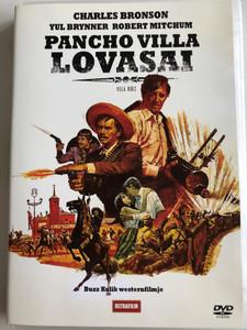 Villa Rides DVD 1968 Pancho Villa Lovasai / Directed by Buzz Kulik / Starring: Yul Brynner, Robert Mitchum, Charles Bronson (5999882817637.)