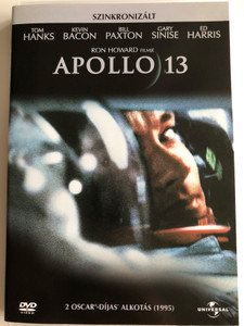 Apollo 13 DVD 1995 / Directed by Ron Howard / Starring: Tom Hanks, Kevin Bacon, Bill Paxton, Gary Sinise, Ed Harris (5996051040193)