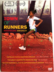 Town of Runners DVD 2012 Miasteczko Biegaczy / Directed by Jerry Rothwell / Documentary about athletes from Ethiopia (5902768596007)