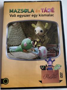 Mazsola és Tádé 2 - Volt egyszer egy kismalac DVD 2011 / Digitálisan felújított változat / Directed by Kende Márta / Written by Bálint Ágnes / Hungarian puppet movie (5999542819896)