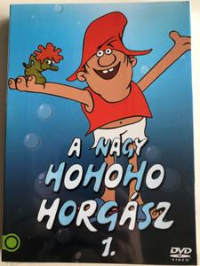 A Nagy Hohoho Horgász 1. DVD / Directed by Dargay Attila, Füzesi Zsuzsa / Voice Actors: Balázs Péter, Mikó István (5996514050806)