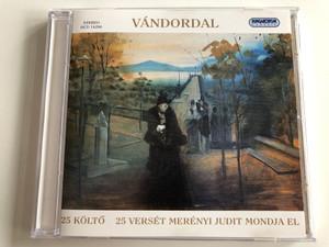 Vandordal - 25 Kolto, 25 Verset Merenyi Judit Mondja El / Hungaroton Classic Audio CD 2001 Stereo / HCD 14296