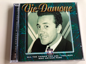 Vic Damone - On The Street Where You Live / All The Things You Are, Feelings, Mac Arthur Park / Life Time Audio CD / LT 5068