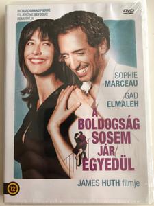 Un bonheur n'arrive jamais seul DVD 2012 A Boldogság sosem jár egyedül (Happiness never comes alone) / Directed by James Huth / Starring: Sophie Marceau, Gad Elmaleh, Maurice Barthélémy (5999542819421)