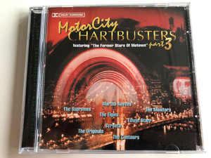 Motor City - Chartbusters, Part 3 / Featuring ''The Former Stars Of Motown'' / Martha Reevers, The Supremes, The Monitors, The Elgins, Edwin Starr, Syreeta, The Originals, The Contours / Going For A Songs Audio CD / GFS121