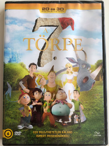 Der 7bte Zwerg DVD A 7. törpe (The Seventh Dwarf ) / Directed by Harald Siepermann / Starring: Peyton List, Norm MacDonald, Nina Hagen, Breckin Meyer (5996471001637)