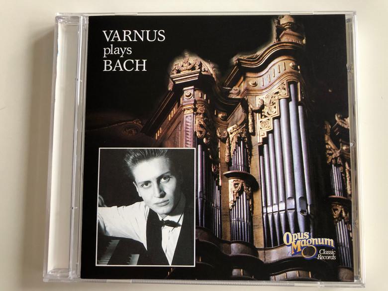 Varnus plays Bach / Opus Magnum Audio CD 1994 / OM CD 001