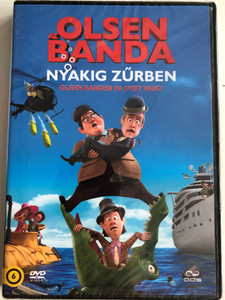 Olsen Banden Pa Dybt Van DVD 2013 Az Olsen Banda Nyakig zűrben / Directed by Jorgen Lerdam / Starring: Martin Buch, Nicolaj Kopernikus, Kurt Ravn (5996471000982)