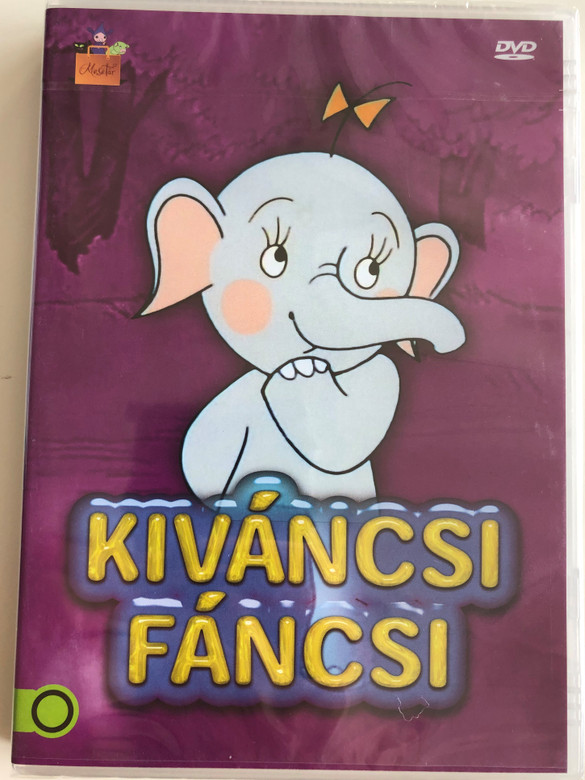 Kíváncsi fáncsi 1989 DVD Hungarian cartoon series / Directed by Richly Zsolt / Written by Tordon Ákos Miklós / Voices: Halász Judit, Csala Zsuzsa / Színes magyar mesefilm (5999542819537)