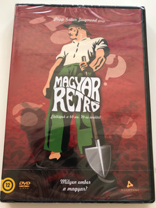 Magyar Retró DVD 2010 Part 1. Milyen ember a magyar? / Directed by Papp Gábor Zsigmond / Narrated by Máté Gábor, Vallai Péter / Life in Hungary in the 60's and 70's - documentary (5999544259300)