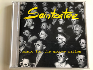 Saintcatee – Music For The Groovy Nation / Massacre Records Audio CD 1996 / MASS CD 086