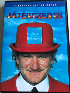 Toys DVD 1992 Játékszerek / Directed by Barry Levinson / Starring: Robin Williams, Michael Gambon, Joan Cusack, Robin Wright (5996255724738)