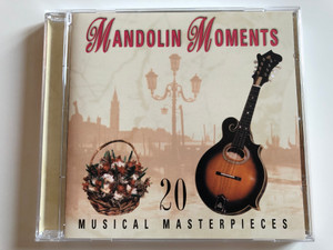 Mandolin Moments - 20 Musical Masterpieces / Prism Leisure ‎Audio CD 1999 / PLATCD 557
