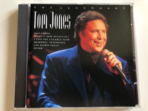 The Legendary Tom Jones / Including What's New Pussycat?, I Can See Clearly Now, Memphis,Tennessee, Lay Down Sally, Fever / Pegasus Audio CD 1999 / PEG CD 220