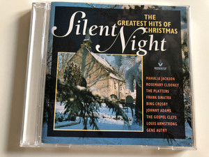 Silent Night - The Greatest Hits Of Christmas / Mahalia Jackson, Rosemary Clooney, The Platters, Frank Sinatra, Bing Crosby, Johnny Adams, The Gospel Clefs, Louis Armstrong, Gene Autry / Galaxy Music Audio CD 1993 / 3880592