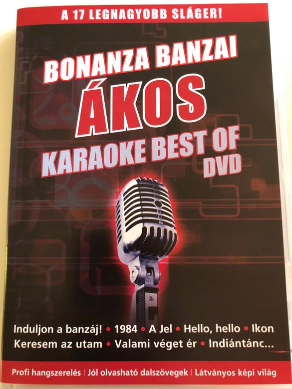 Ákos - Karaoke Best of DVD 2012 / Bonanza Banzai - A 17 legnagyobb sláger! / A jel, Keresem az utam / RetroMedia RMDVD840 (5999885691012)