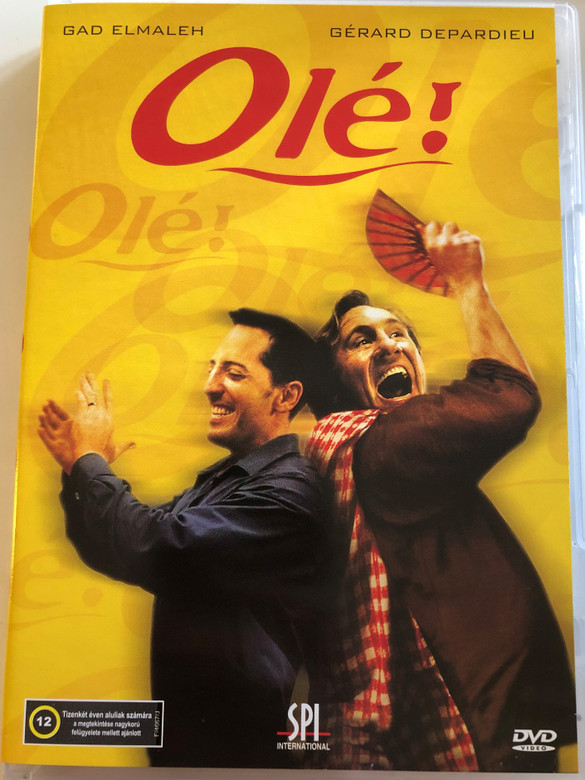 Olé! DVD 2005 / Directed by Florence Quentin / Starring: Gad Elmaleh, Gerard Depardieu (5999544155756)