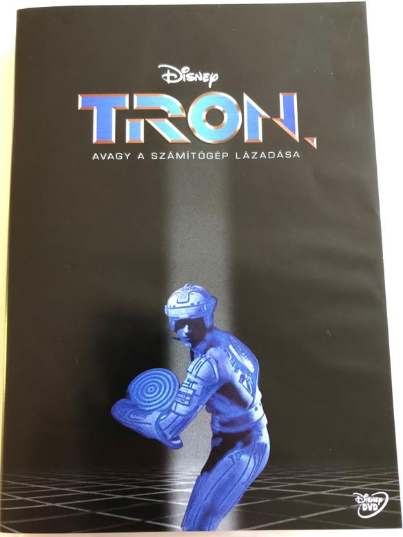 Tron DVD 1982 Tron, avagy a számítógép lázadása / Directed by Steven Lisberger / Starring: Jeff Bridges, Bruce Boxleitner , David Warner, Cindy Morgan, Barnard Hughes (5996255708622)