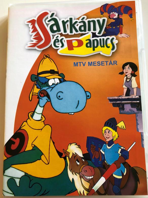 Sárkány és Papucs DVD 1989 Dragon & Slippers / Hungarian cartoon / Directed by Hernádi Tibor, Dargay Attila / Voices: Csákányi László, Gálvölgyi János, Sztankay István (5998329507490)