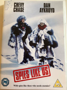 Spies like us DVD 1985 / Directed by John Landis / Starring: Dan Aykroyd, Chevy Chase (7321900115339)