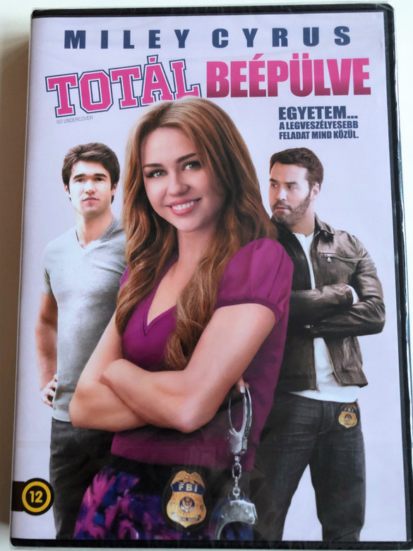 So Undercover DVD 2012 Totál Beépülve / Directed by Tom Vaughan / Starring: Miley Cyrus, Jeremy Piven, Mike O'Malley, Josh Bowman, Kelly Osbourne (5999075604853)