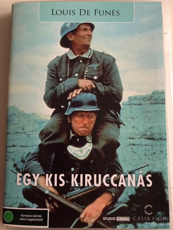 Egy kis kiruccanás - La Grande Vadrouille DVD 1966 / Directed by Gérard Oury / Starring: Bourvil, Louis de Funès, Claudio Brook, Terry-Thomas (5999554700069)