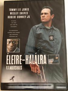 U.S. Marshals DVD 1998 Életre-Halálra / Directed by Stuart Baird / Starring: Tommy Lee Jones, Wesley Snipes, Robert Downey Jr. (5996514000337)