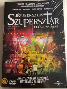 Jesus Christ Superstar - Live Arena Tour DVD Jézus Krisztus Szupersztár Élő arénaturné / Directed by Tim Rice, Andrew Lloyd Webber / Starring: Tim Minchin, Melanie C, Chris Moyles, Ben Forster (5996051053094)