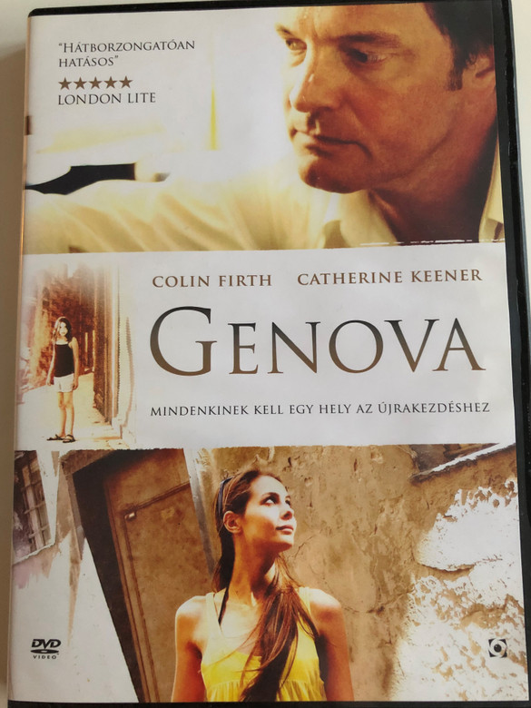 Genova DVD 2008 / Directed by Michael Winterbottom / Starring: Colin Firth, Catherine Keener, Willa Holland (5999544258488)