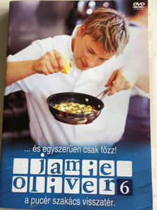 Oliver's Twist DVD 2002 Jamie Oliver vol. 6 / A pucér szakács visszatér / és egyszerűen csak főzz / Directed by Brian Klein / 3 episodes / Cooking with Jamie Oliver (5996473011191)