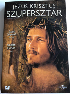 Jesus Christ Superstar DVD 1973 Jézus Krisztus Szupersztár / Directed by Norman Jewison / Starring: Ted Neeley, Carl Anderson, Yvonne Elliman, Barry Dennen (5996051040384)