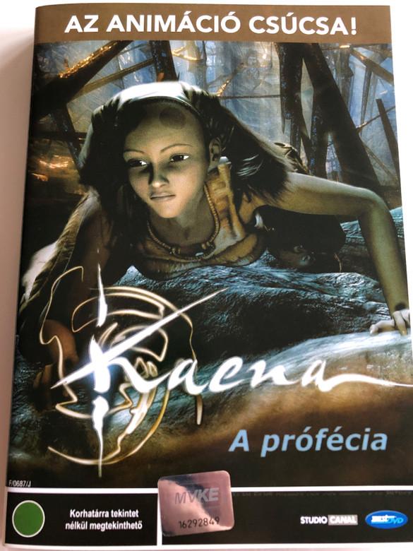 Kaena: La prophétie DVD 2003 Kaena - a prófécia / Kaena: The Prophecy / Directed by Chris Delaporte, Pascal Pinon / Starring: Kirsten Dunst, Richard Harris, Anjelica Huston, Keith David, Ciara Janson (5998133143334)