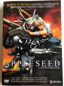 Appleseed DVD 2004 A jövő harcosai (アップルシード) / Directed by Shinji Aramaki / Starring: Ai Kobayashi, Jūrōta Kosugi, Mami Koyama, Yuki Matsuoka, Toshiyuki Morikawa (5996473001550)