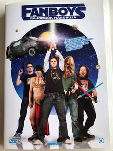 Fanboys DVD 2009 Rajongók háborúja / Directed by Kyle Newman / Starring: Jay Baruchel, Dan Fogler, Sam Huntington, Chris Marquette, Kristen Bell (5999544257313)
