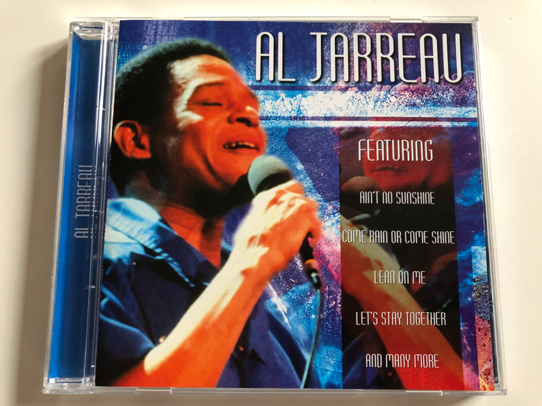 Al Jarreau / Featuring Ain't No Sunshine, Come Rain Or Come Shine, Lean On Me, Let's Stay Together, and many more / Going For A Song Audio CD / GFS318