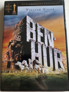 Ben-Hur DVD 1959 Directed by William Wyler / Starring: Charlton Heston, Jack Hawkins, Haya Harareet, Stephen Boyd (5948211020613)
