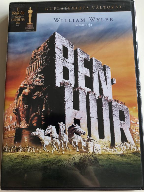 Ben-Hur DVD 1959 Directed by William Wyler / Starring: Charlton Heston, Jack Hawkins, Haya Harareet, Stephen Boyd (5948211020613)