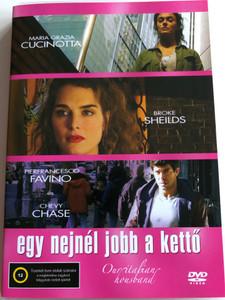 Our Italian Husband DVD 2004 Egy nejnél jobb a kettő / Directed by Ilaria Borrelli / Starring: Maria Grazia Cucinotta, Pierfrancesco Favino, Brooke Shields, Chevy Chase (5999545584272)