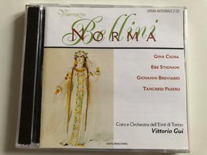 Vincenzo Bellini – Norma / Gina Cigna, Ebe Stignani, Giovanni Breviario, Tancredi Pasero / Coro e Orchestra dell'Eiar di Torino, Vittorio Gui / Lyrica 2x Audio CD 1998 / LRC 01091-2